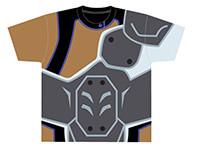 KING OF PRISM by PrettyRhythm バトルスーツ(大和アレクサンダーver)フルグラフィックTシャツ