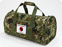 シンゴジラ JAPAN VS GODZILLA 自衛隊迷彩ドラムバッグ
