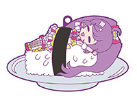 プリパラ【きゃらいど】アイドルとお寿司は鮮度が命!ラバーストラップ