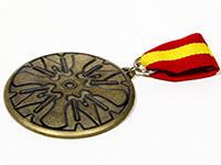 天鏡のアルデラミン 旭日連隊(グラ・メストエリ)徽章型メタルアクセサリー