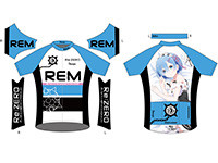 Re:ゼロから始める異世界生活 サイクルジャージ レム