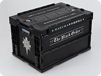 D.Gray-man HALLOW 黒の教団 対AKUMA軍事機関備品 折りたたみコンテナ