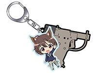 ブレイブウィッチーズ【T.W.G.】ひかり&FP-45リベレーターキーホルダー