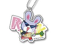 プリパラ【パラネタ】ROCKうさぎアクリルチャーム