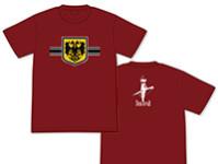 幼女戦記 帝国国旗Tシャツ
