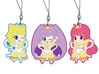 プリパラ 【パラネタ】神アイドルラバーストラップ3種
