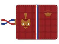 プリパラ【パラネタ】手帳型スマートフォンケース トリコロールデザイン