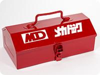 よろしくメカドック 山型ツールボックス RED