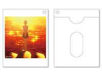サクラダリセット 相麻菫のポラロイド写真型パスケース