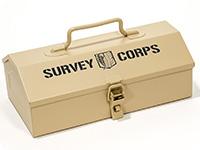 進撃の巨人 調査兵団山型ツールボックス