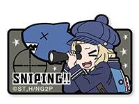 NEW GAME!! ねねっちSNIPING!!ベルクロワッペン
