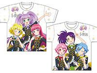 アイドルタイムプリパラ×i☆Ris SoLaMi♡SMILE/ DressingPafé フルグラフィックTシャツ