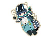 ゆるキャン△【きゃらいど】リンonスクーター ラバーストラップ