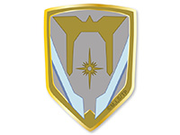 宇宙戦艦ティラミス スバルの階級章ベルクロワッペン