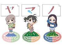 ヤマノススメ サード シーズン【めもすた!】5種