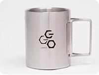 SAO オルタナティブ ガンゲイル・オンライン GGO折りたたみステンレスマグカップ
