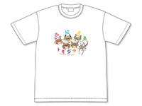 ラストピリオド あにまるトモダチTシャツ