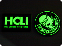ヨルムンガンド【高発光缶バッジ】HCLI / ナイトナイン