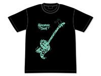 キラッとプリ☆チャン【キラッネタ】緑川さらの蓄光ギターTシャツ