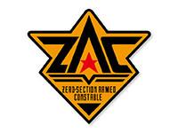 電脳警察サイバーコップ ZACワッペン(着脱式)