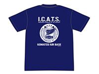 ガーリー・エアフォース I.C.A.T.S.部隊バックプリントTシャツ