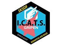 ガーリー・エアフォース I.C.A.T.S.部隊GG3耐ステッカー