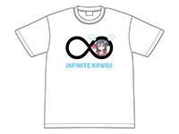 私に天使が舞い降りた!INFINITE KAWAII花ちゃんTシャツ