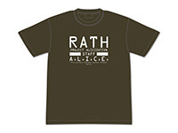 ソードアート・オンライン アリシゼーション RATH社オペレーションスタッフTシャツ