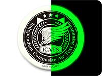 ガーリー・エアフォース I.C.A.T.S.部隊高発光缶バッジ