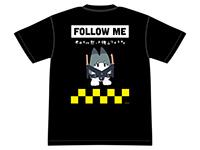 けものフレンズ ラッキービースト(型番不明・コマンド)FOLLOW ME Tシャツ