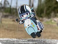 ゆるキャン△ SEASON2 お出かけふぉとすた!リンonスクーター