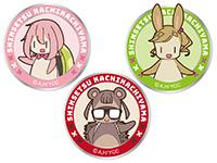 へやキャン△ オリジナル童話に登場したキャラクターワッペン(着脱式)3種
